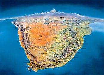 Southern-Africa-Panorama-Map