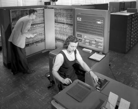 Inspiration 1 IBM Electronice Data Processing Machine by NASA 1957